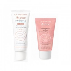 Avene Hydrance Optimale UV20 Riche Crema Idratante 40ML+Gommage 50ML