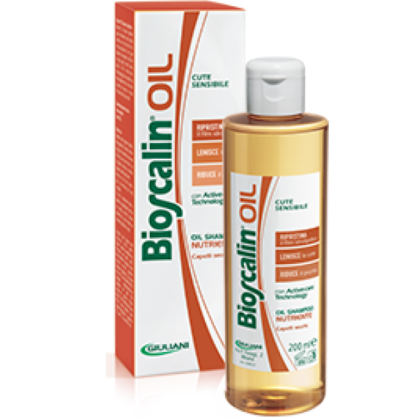 Bioscalin oil shampoo nutriente per capelli secchi 200ml