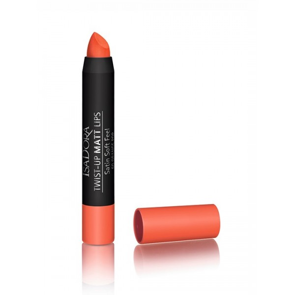 Isadora Twistup Matt Lips Orange Pop 60