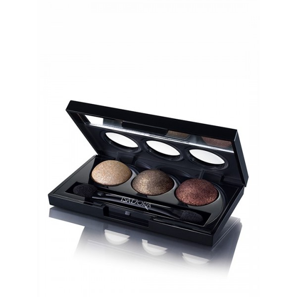 Isadora Eye Shadow Trio Leopard 86
