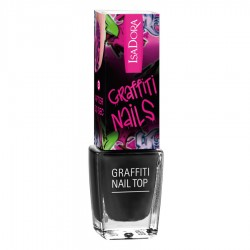 Isadora Graffiti Nail Top - 801 - Black Tag