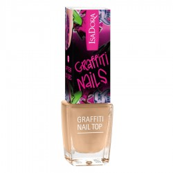 Isadora Graffiti Nail Top - 811 - Gold Bomb