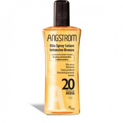 Angstrom Protect Olio Solare Spray Intensive Bronze SPF 20
