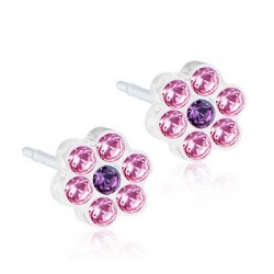 BLOMDAHL GIOIELLO MP DAISY 5MM LIGHT ROSE/AMETHYST
