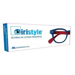 IRISTYLE RUBBER BI BLUE RED +3,00