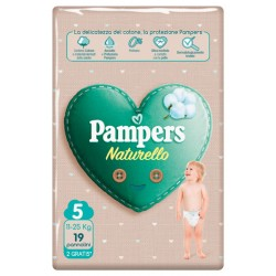 PAMPERS NATUR JUNIOR CP 17 PEZZI + 2